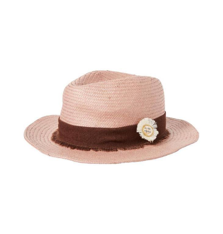 Maison Scotch Pink Sumer Straw Hat 143907
