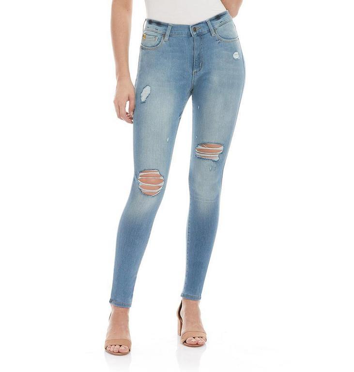 Yoga Jeans Used Denim Skinny Jeans R30/1582.EU