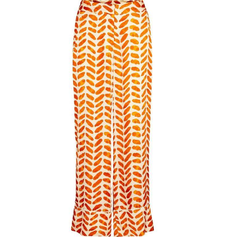 Second Female Orange Stroke Trousers 51486