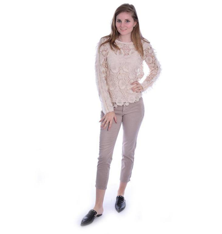 Louis and Mia Beige Blouse 89029
