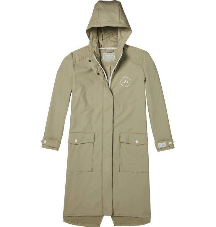 Maison Scotch Kaki Raincoat 143608