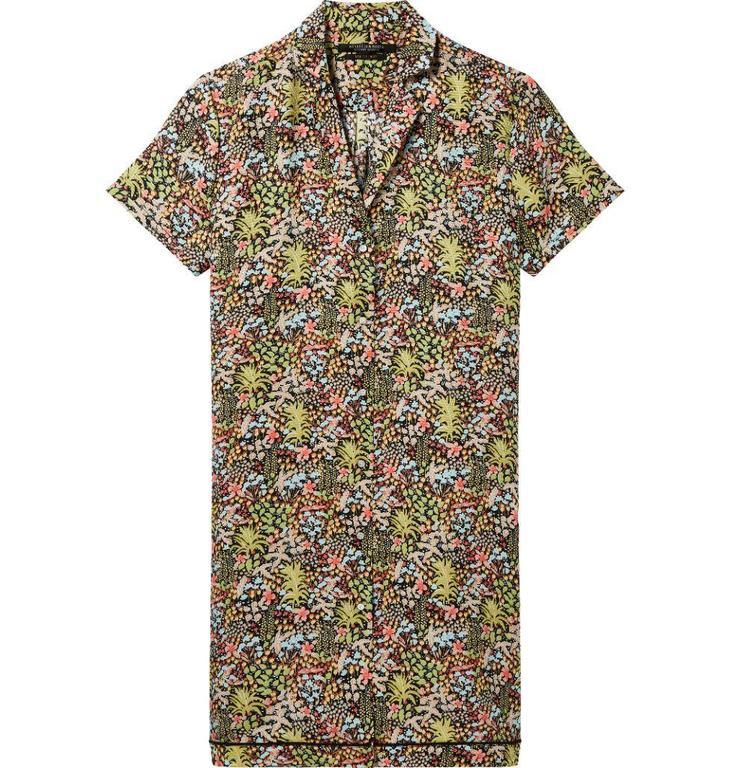Maison Scotch Multicolour Printed Shirtdress 144000