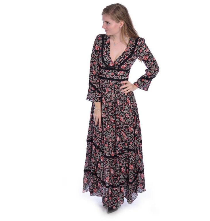 ba&sh Black Robe Heren 1E18HERE