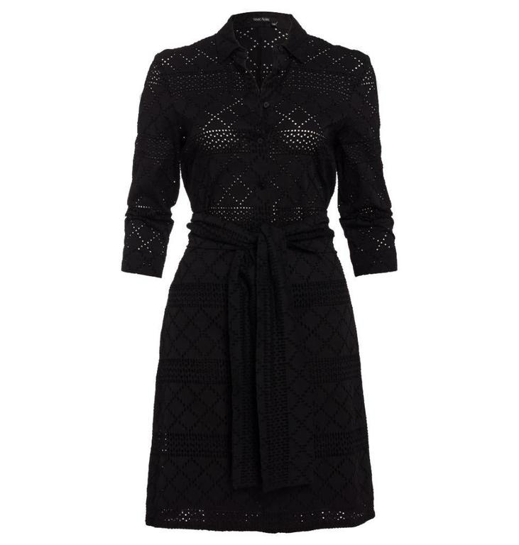 Marc Aurel Black Dress 6908
