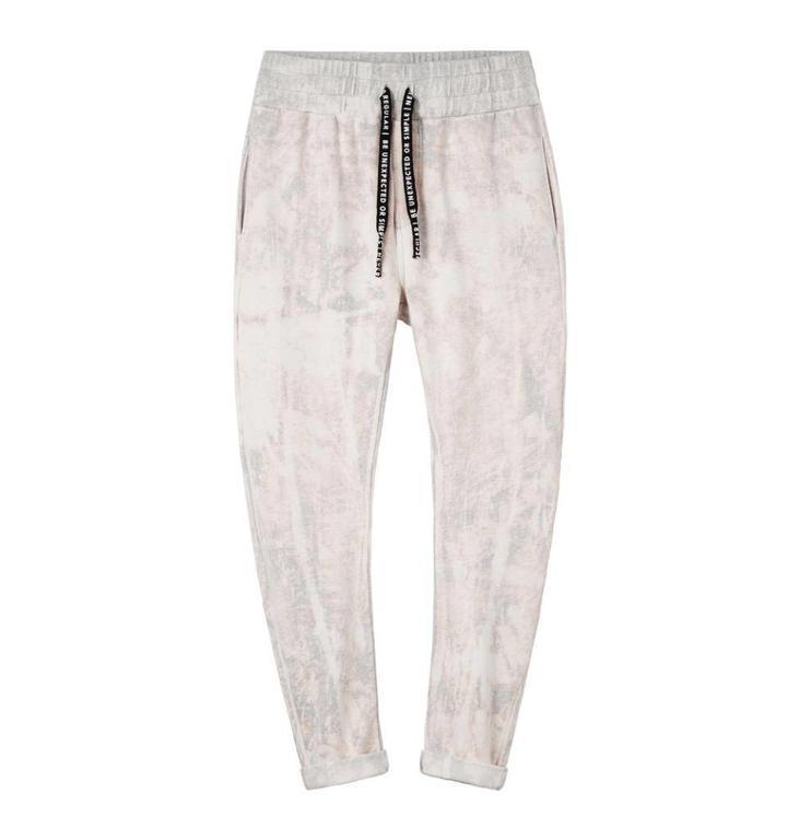 10Days Grey Melee Banana Pants Tie Die 20.009.8102