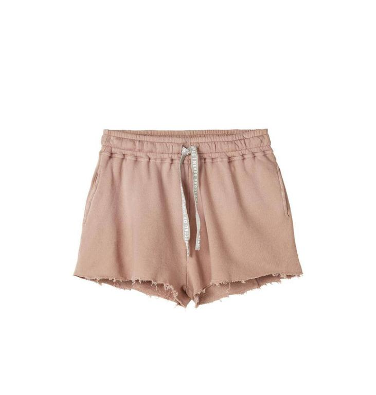 10Days Dark Pale Pink Open Fleece Short 20.206.8102