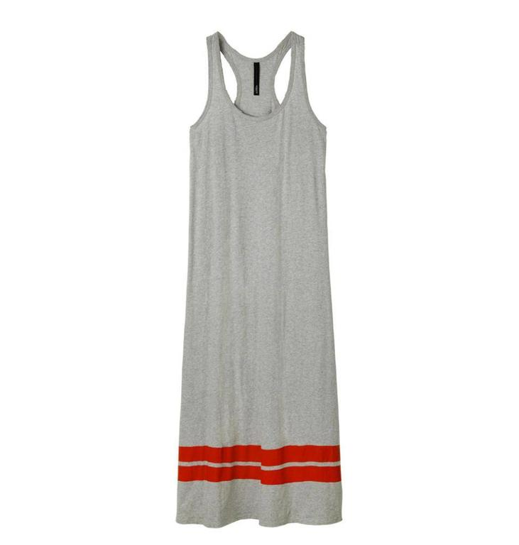 10Days Light Grey Melee Sleeveless Dress 20.311.8102