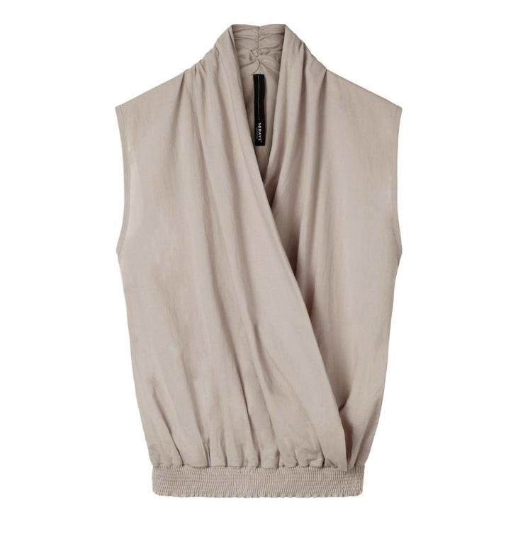 10Days Light Mauve Wrap Top 20.404.8102