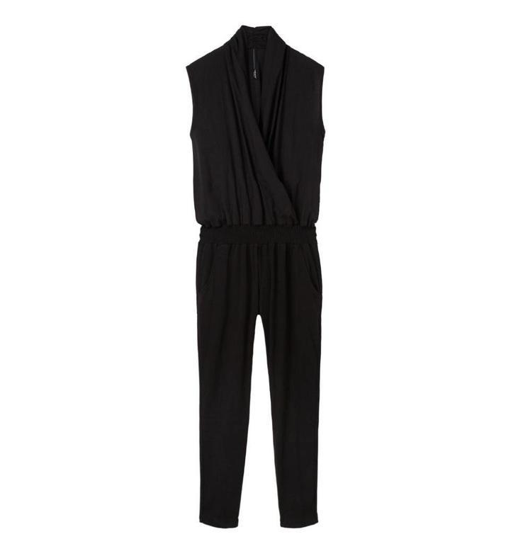 10Days Black Jumpsuit 20.080.8102