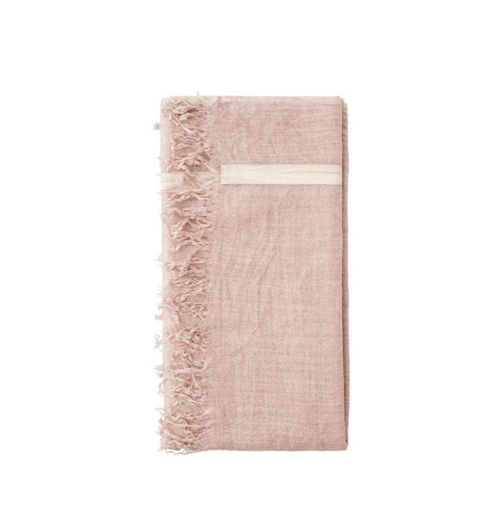 10Days Dark Pale Pink Tape Scarf 20.920.8102