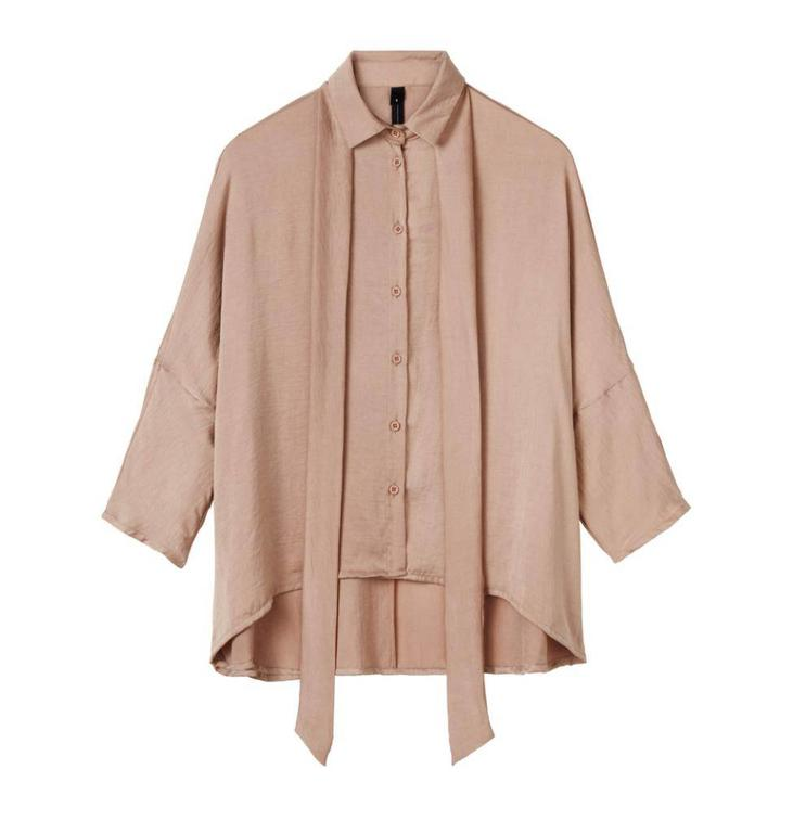 10Days Pale Pink Blouse Silk Look 20.406.8102
