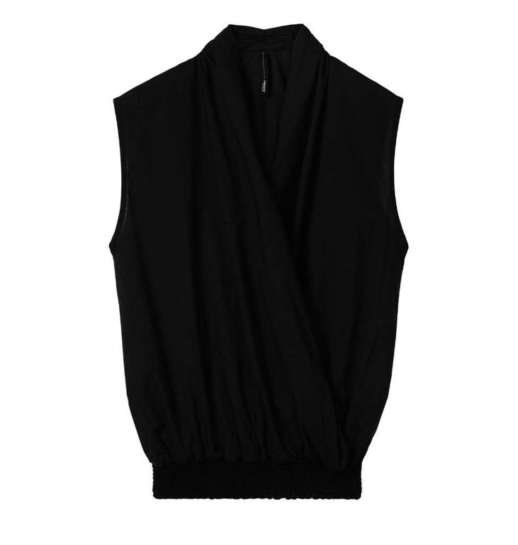 10Days Black Wrap Top 20.404.8102