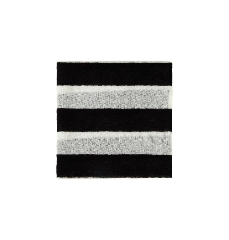 10Days Black/White Scarf Stripe 20.690.8101
