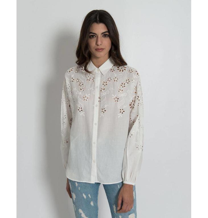 Silvian Heach White Shirt Palmital 18756CA
