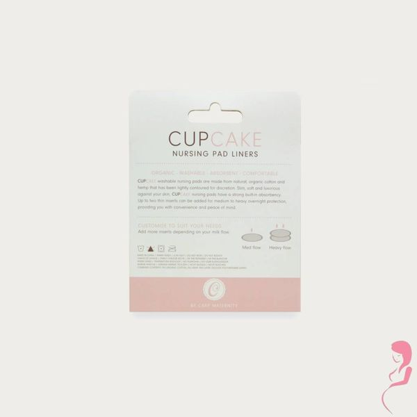 CupCake inlays voor Zoogcompressen / Borstcompressen