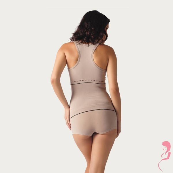 Cache Coeur Voedingstop Illusion Beige