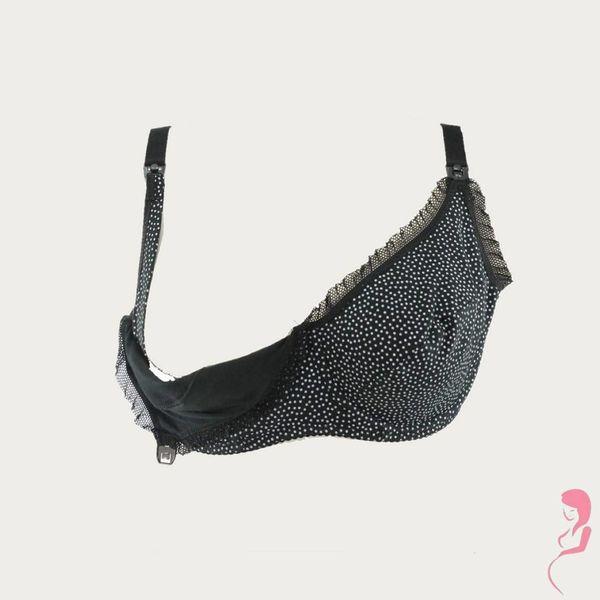 BB (Benefit) Zwangerschapsbeha / Voedingsbeha Mama Dots Zwart