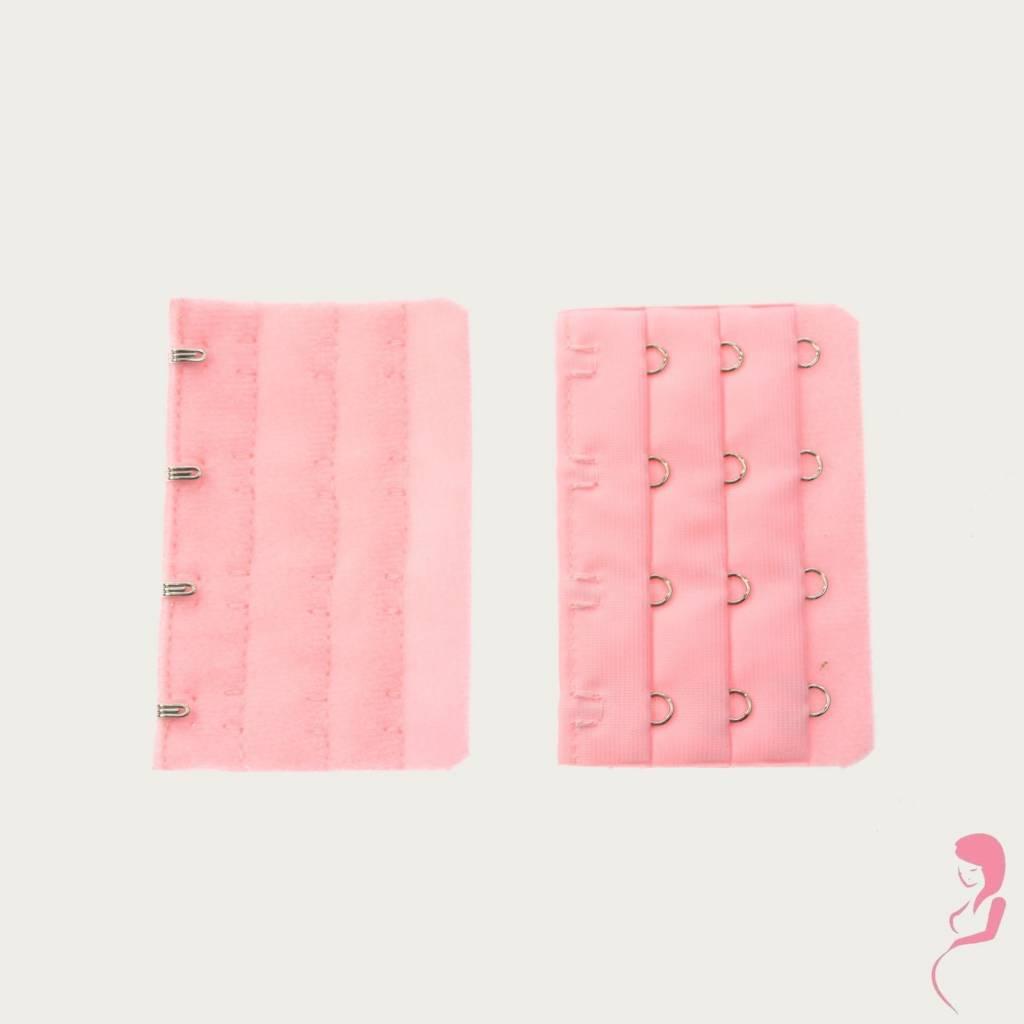 Op en Top Zwanger, Op en Top Zwanger Beha Verlengstuk 4 Haaks Roze per stuk