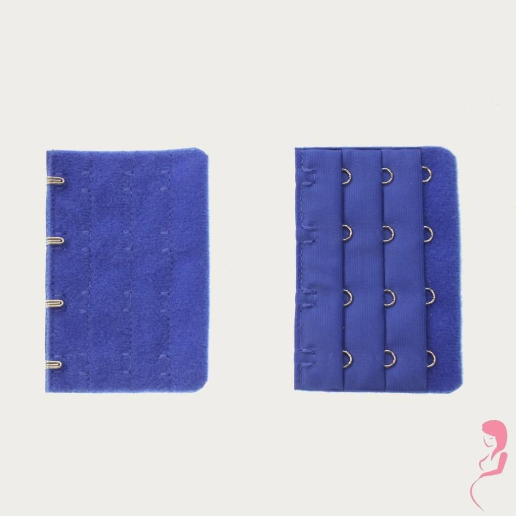 Op en Top Zwanger, Op en Top Zwanger Beha Verlengstuk 4 Haaks Helder Blauw