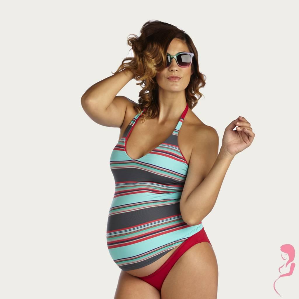 Pez Do'r ZwangerschapsTankini Caribe Striped