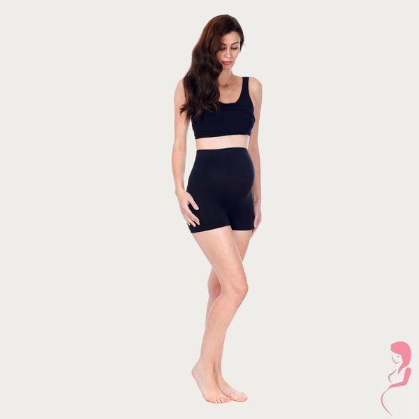 Noppies Zwangerschapsshort Positieshort Hoog Naadloos Zwart
