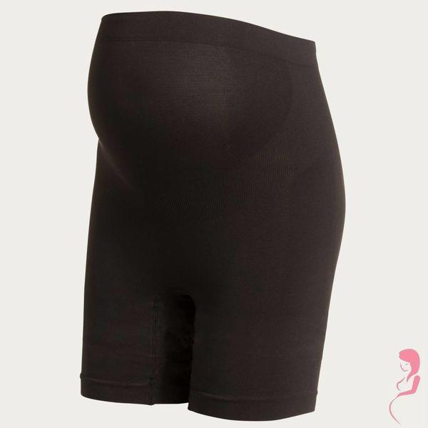 Noppies Zwangerschapsshort Positieshort Hoog Zwart Lange Pijp