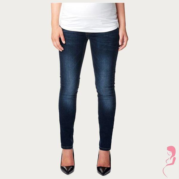 Noppies Zwangerschapsjeans Positiejeans Mia Slim Jeans Dark Stone Wash