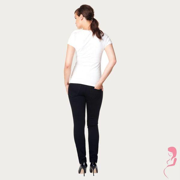 Noppies Zwangerschapsjeans Positiejeans Leah Slim Jeans Zwart