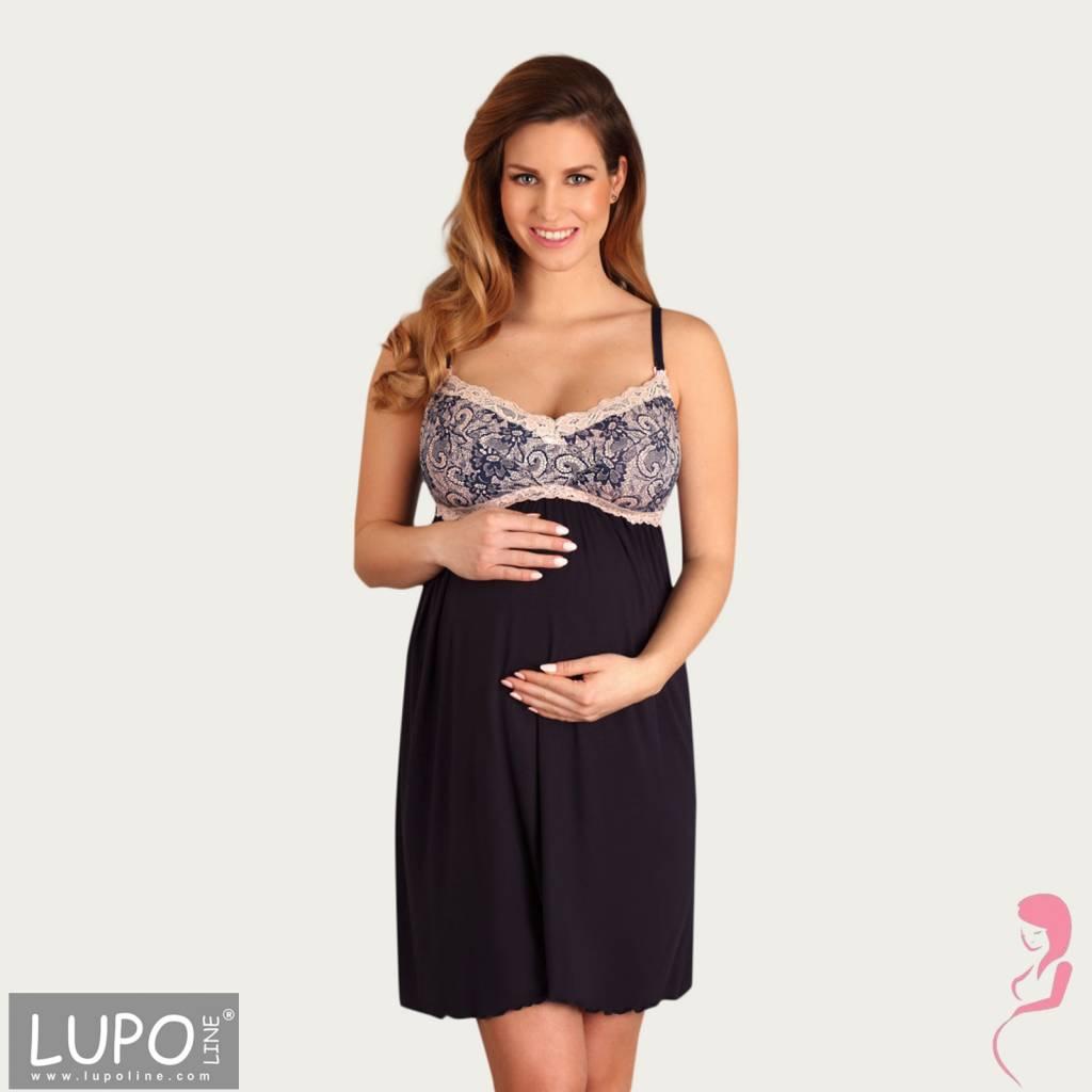 Lupoline Voedingsjurk - Zwangerschapsjurk Romantic Pink