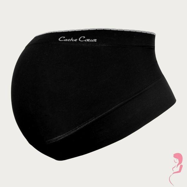 Cache Coeur Zwangerschaps Steun Buikband Illusion Black