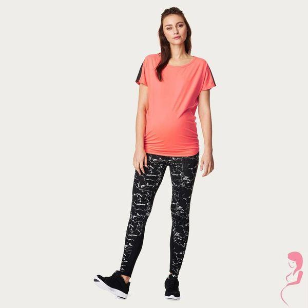 Noppies Zwangerschapslegging Positielegging Fae Naadloos Zwart