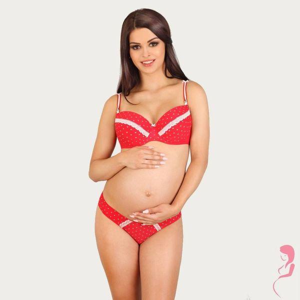 Lupoline Zwangerschapsbeha / Voedingsbeha Valentine Love Red