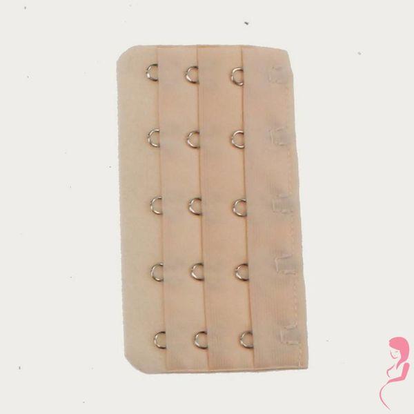 Op en Top Zwanger Beha / Corset Verlengstuk / Verlenger 5 Haaks Huidskleur (per stuk)