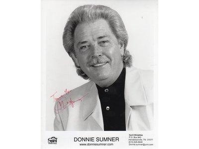 Gesigneerde foto - Donnie Sumner