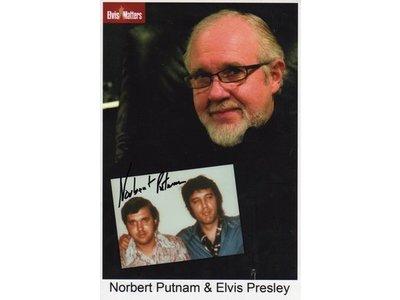 Gesigneerde foto - TCB - Norbert Putnam