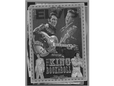 King Of Rock and Roll - Zwart Wit