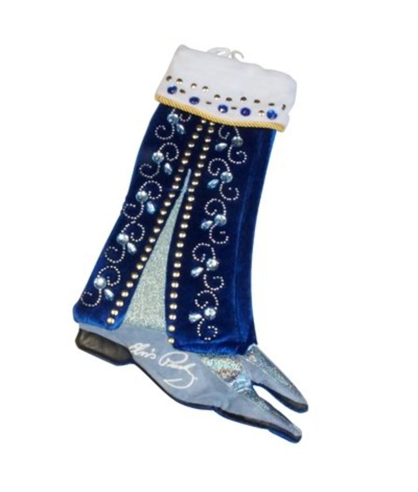 Christmas Stocking - Blue Suede Shoes