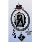 Ornament - Elvis In Black Suit