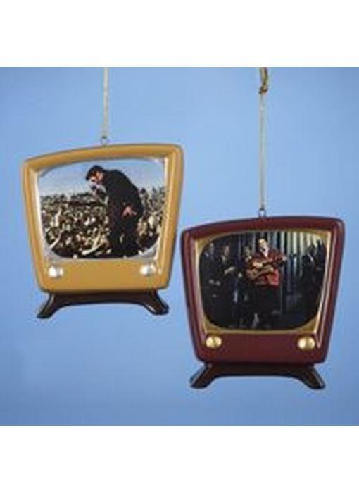 Ornament T4 - Retro TV Set Duo