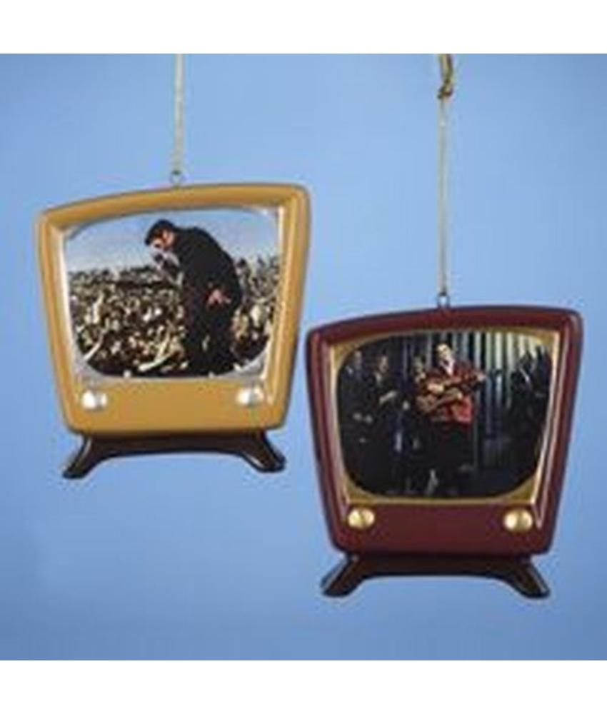 Ornament T4 - Retro TV Set Duo