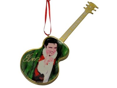 Ornament T5 - Santa Elvis Green