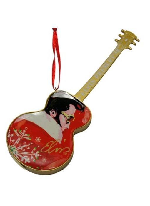 Ornament T5 - Santa Elvis Red