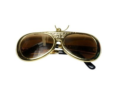 Ornament T5 - Sunglasses Gold
