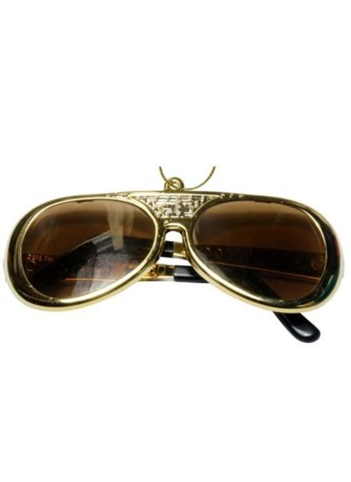 Ornament T5 - Sunglasses Gold