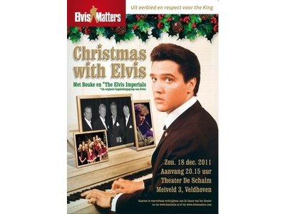DVD - Christmas With Elvis - With Bouke and Live Band