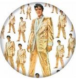 Button - Gold Suit
