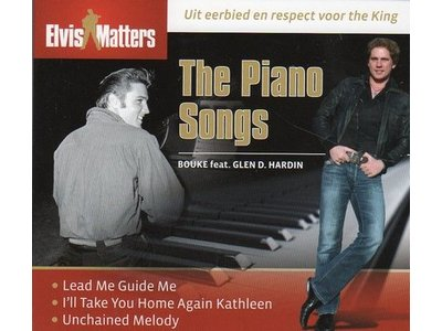 The Piano Songs - Bouke with Elvis pianist Glen D Hardin