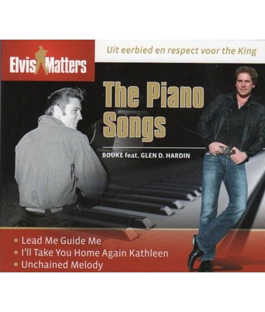 The Piano Songs - Bouke en Elvis pianist Glen D Hardin