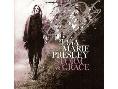 Lisa Marie Presley - Storm &amp  Grace (Signed)
