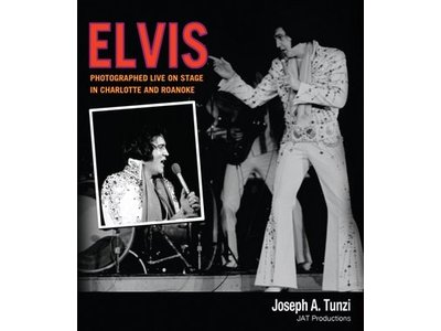 JAT Productions Elvis, Photographed Live On Stage In Charlotte and Roanoke
